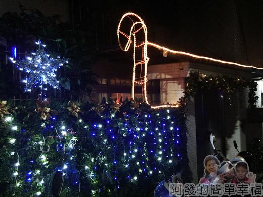 吉慶里聖誕巷16-致遠2路61巷燈飾