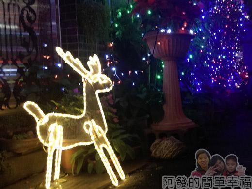 吉慶里聖誕巷29-麋鹿燈飾