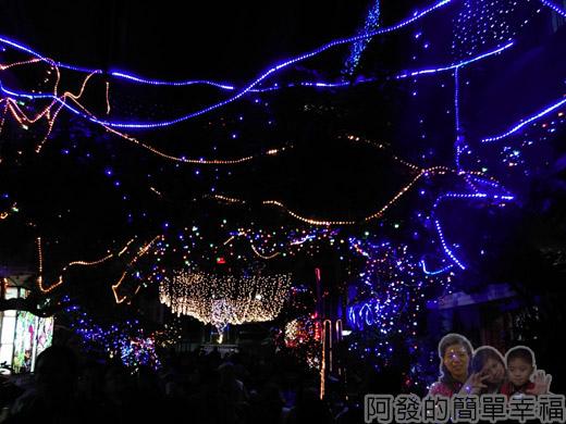吉慶里聖誕巷41-繽紛的燈海