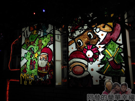 吉慶里聖誕巷44-應景的燈箱