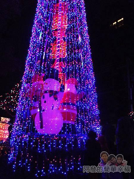 福興里聖誕公園12-大型聖誕燈樹
