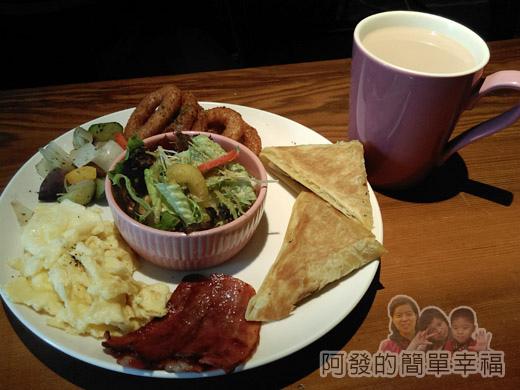 小廚房創意早午餐19-普羅旺斯早餐(加值)-香煎乳酪餅I