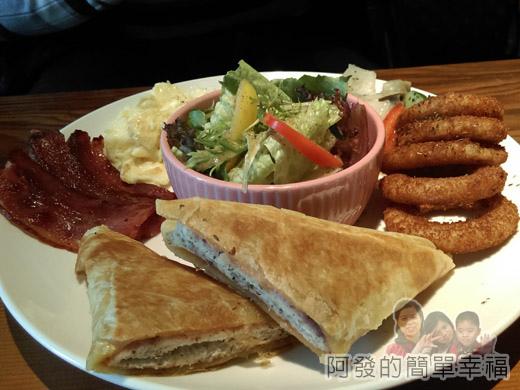 小廚房創意早午餐20-普羅旺斯早餐(加值)-香煎乳酪餅II