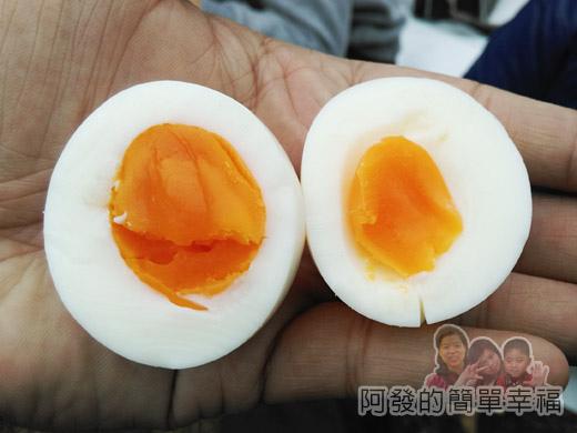 宜蘭大同清水地熱30-溫泉蛋的蛋黃色澤很美.jpg
