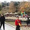 長埤湖風景區06-悠閒的老婆小孩與情侶