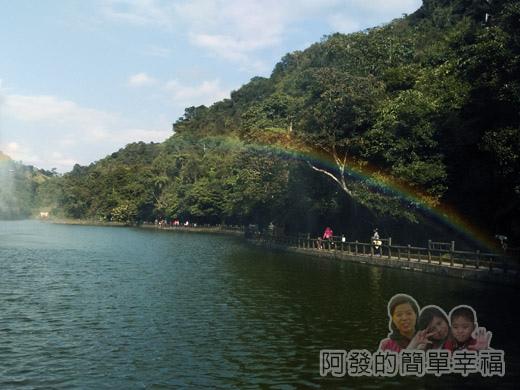 長埤湖風景區13-近似伸手可觸及的彩虹
