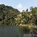 長埤湖風景區17-湖光山色與綠蔭步道