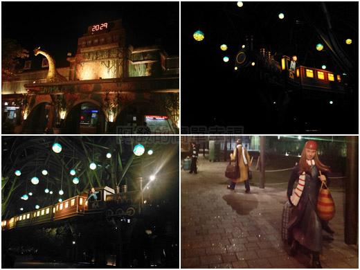 夜訪宜蘭火車站周邊all