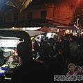 夜訪宜蘭火車站周邊01-東門觀光夜市人潮
