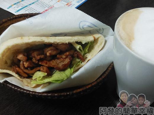 晨間廚房09-口袋餅-嫩煎雞柳