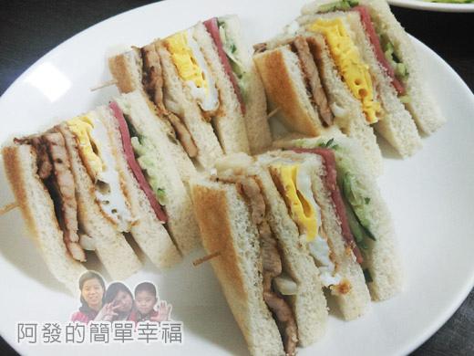晨間廚房17-總匯三明治