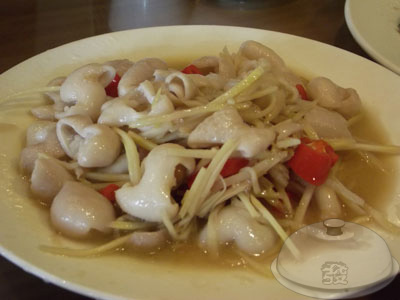 大溪-老地方客家菜-薑絲大腸