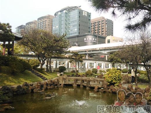 逸仙公園13-中國江南庭園風的水池