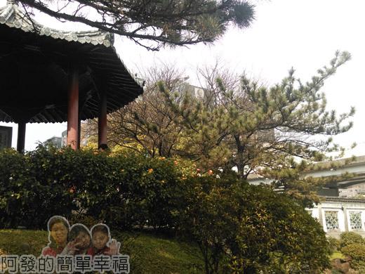 逸仙公園14-中國江南庭園風的涼亭