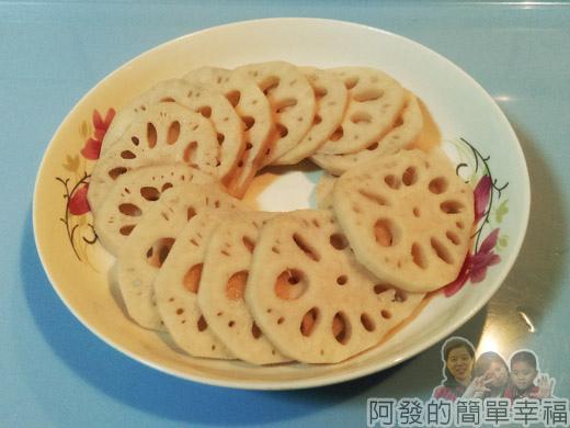 涼拌蓮藕02-蓮藕切片