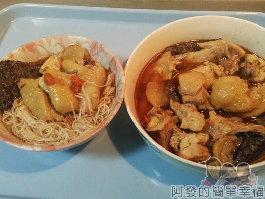 麻油雞麵線-市場小吃風味版13-完成
