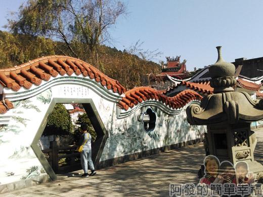 壽山巖觀音寺05-庭園拱門