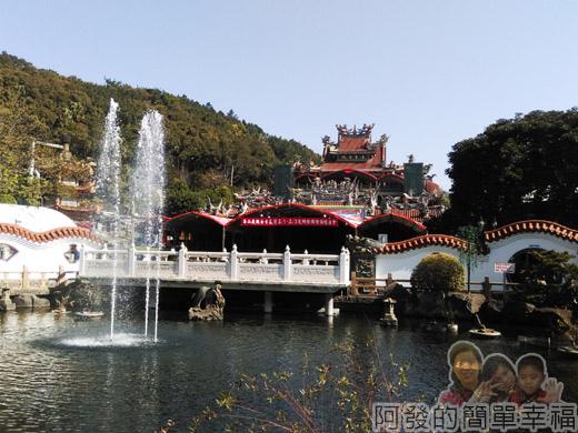 壽山巖觀音寺06-中式傳統水池庭園I