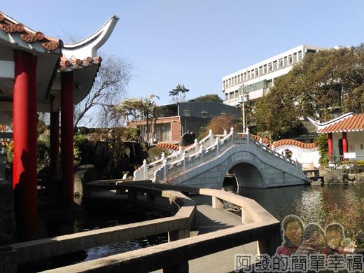 壽山巖觀音寺08-中式傳統水池庭園III
