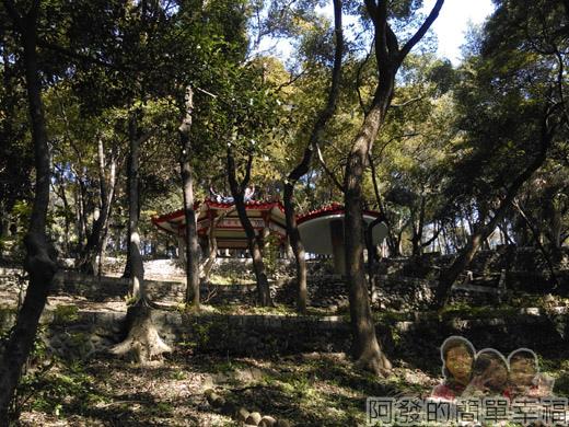 壽山巖觀音寺16-壽山岩公園內有數座涼亭