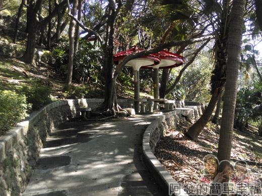 壽山巖觀音寺15-壽山岩公園林蔭步道