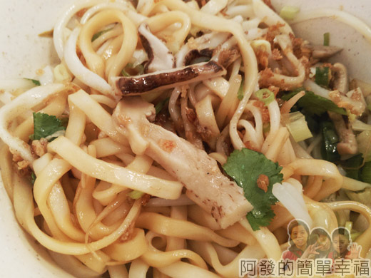 角板山-林記客家小吃08-香菇麵