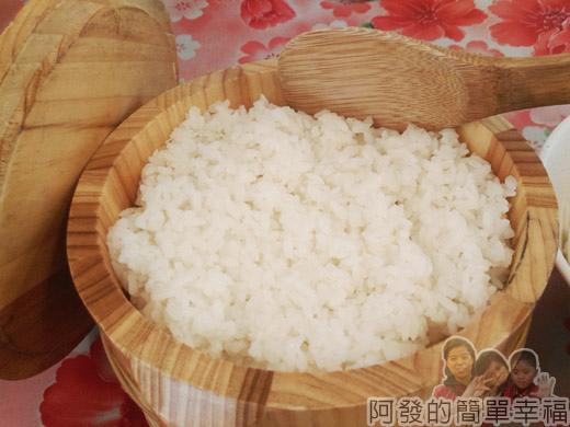 角板山-林記客家小吃10-木桶裝飯