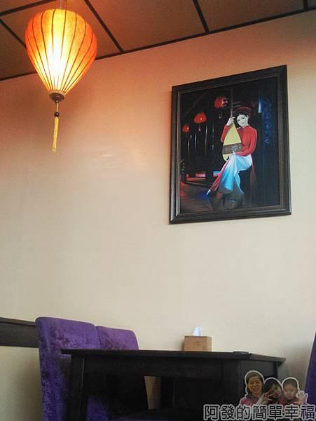 三芝-越南小棧11-2樓用餐環境一角