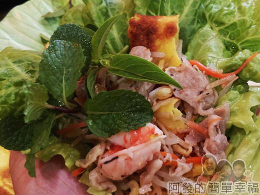 三芝-越南小棧33-包黃煎餅與沙煲海鮮料