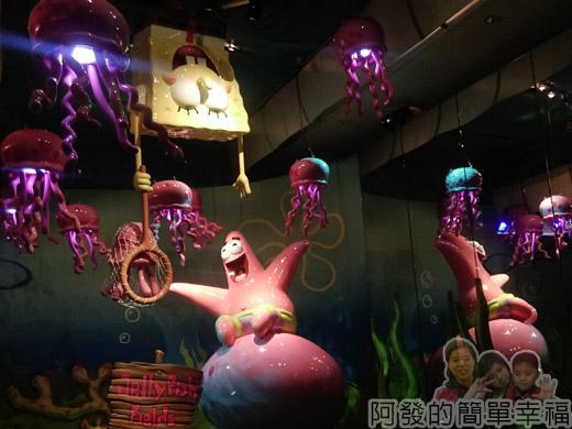 海綿寶寶暢遊比奇堡特展14-奇幻水母田