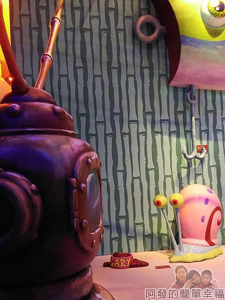 海綿寶寶暢遊比奇堡特展21-電視與小蝸