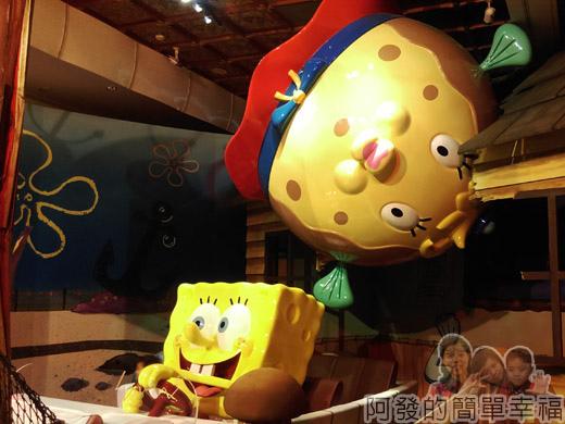 海綿寶寶暢遊比奇堡特展28-破壞力驚人