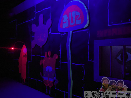 海綿寶寶暢遊比奇堡特展29-夜光深海世界-噗噗堡