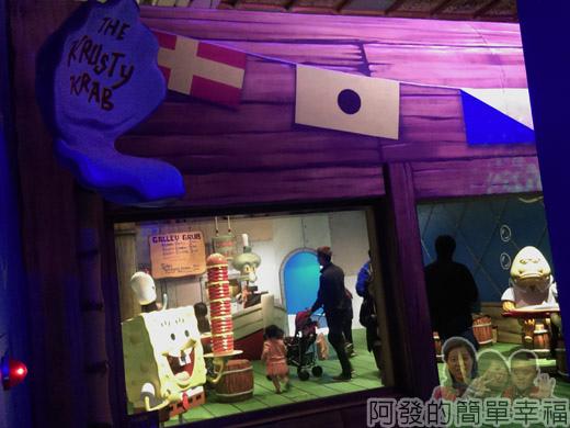 海綿寶寶暢遊比奇堡特展38-蟹堡王到了