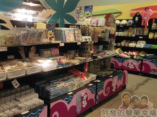 海綿寶寶暢遊比奇堡特展49-相關販售商品
