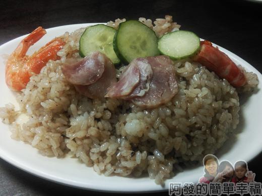 泰便宜南洋小吃14-蝦醬炒飯