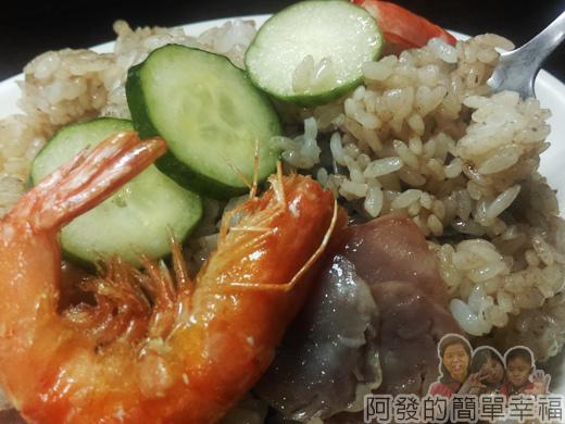 泰便宜南洋小吃15-蝦醬炒飯特寫