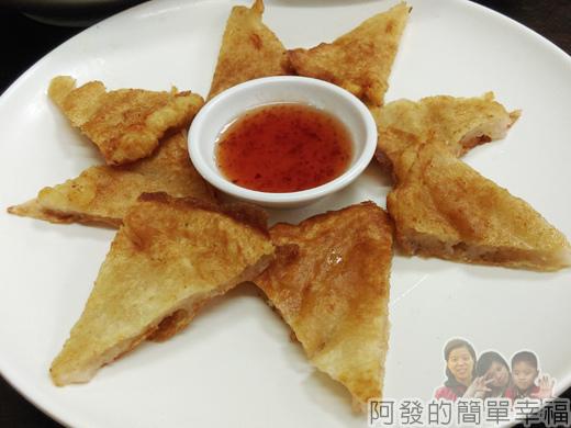 泰便宜南洋小吃17-月亮蝦餅