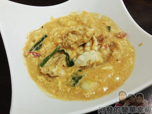 泰便宜南洋小吃21-咖哩螃蟹
