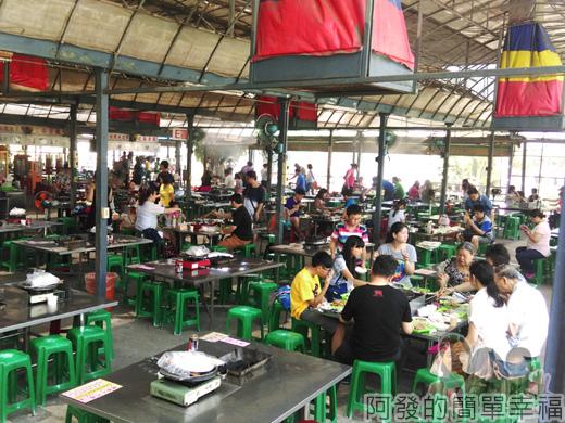 中社觀光花市07-餐飲區(烤肉吃到飽)
