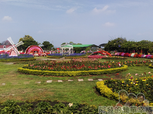 中社觀光花市14-歐式庭園區