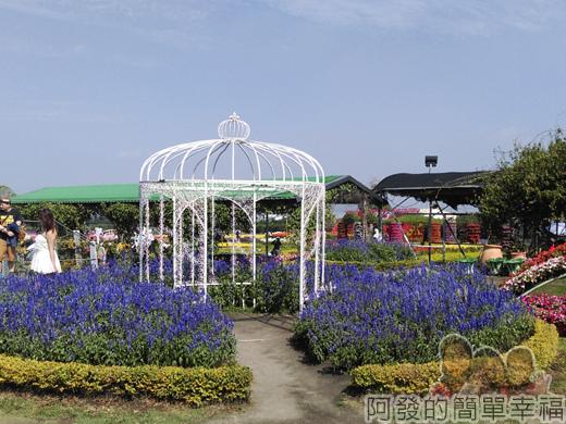 中社觀光花市16-歐式庭園區-造景