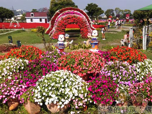中社觀光花市17-歐式庭園區-花花草草