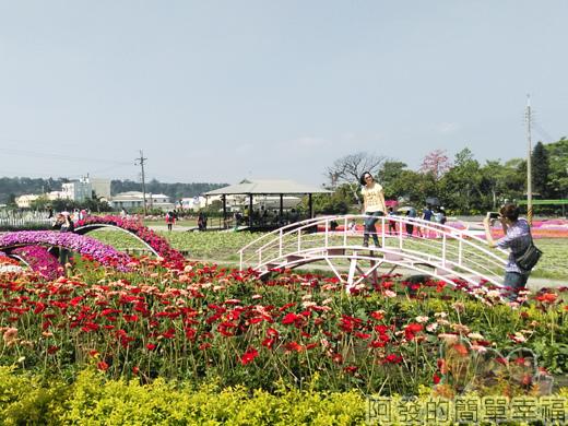 中社觀光花市34-遊客盡情拍照