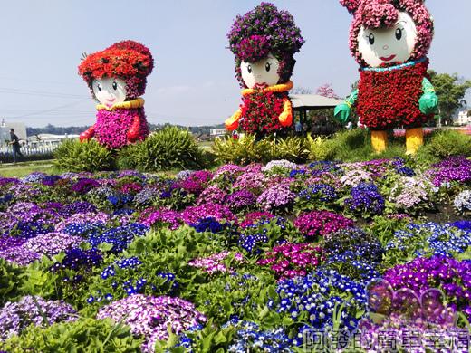中社觀光花市35-萬紫千紅花團錦簇