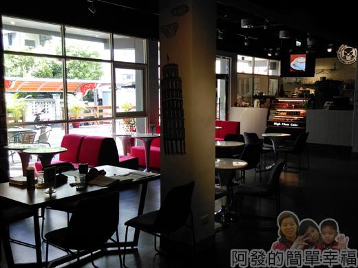 苗栗城市規劃館15-1F-聿曰咖啡環境