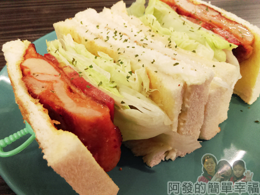 亞米洛複合式早午餐12-雞腿排總匯