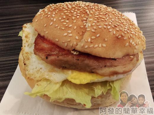 亞米洛複合式早午餐16-豬排漢堡