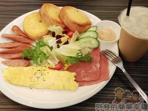 亞米洛複合式早午餐21-來點不一樣組合1號餐