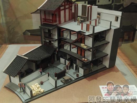 客家圓樓24-2F-城市文化交流展-客家傳統民居類型-圓樓室內場景模型